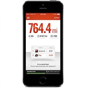 Correre con app per iPhone