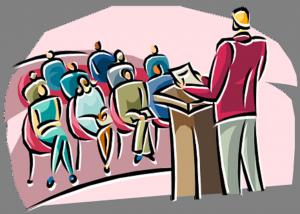 Trucchi per parlare in pubblico senza aver paura
