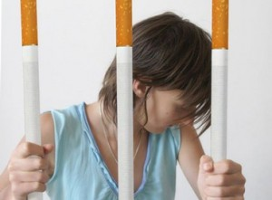 Prigione fatta di sigaretta