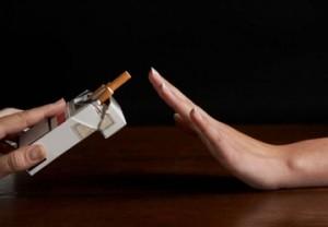 Rifiutare le sigarette