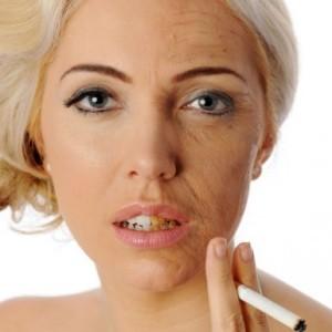 Danni estetici del fumo