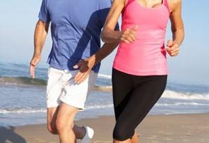 jogging salute
