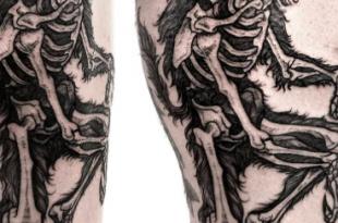 tatuaggio raggi x
