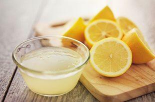 proprietà del succo di limone