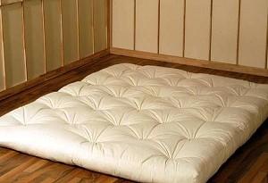 Riposare su futon o letto normale