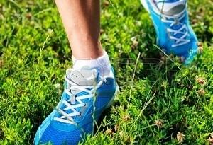 Scarpe per correre sull'erba
