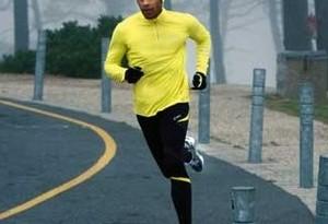 Abbigliamento per jogging in inverno