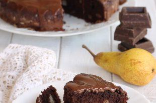 torta birra cioccolao e pere